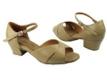 C803 Ladies Tan Leather, Great for Swing Dancing!