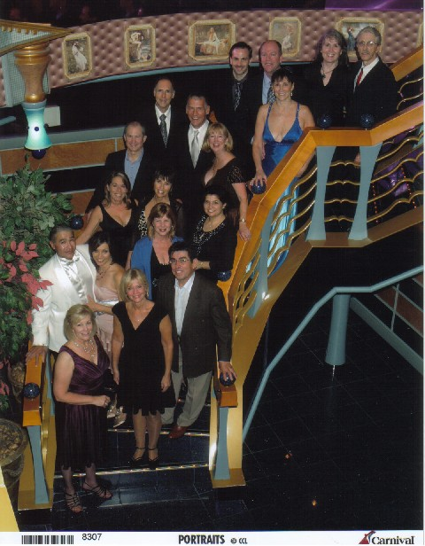 Carnival Miracle 2010 Group Photo